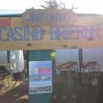 Le petit casino briéron au calme avant l'affluence...