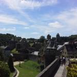 Une vue magnifique sur la forteresse médiévale