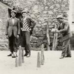 Joueurs de quilles à Saint-André-des-Eaux (Loire- Inférieure)