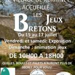 jeux bretons juillet 2016