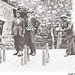 joueurs de quilles à Saint-André Des Eaux