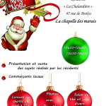 marché de Noël La Chapelle Des Marais